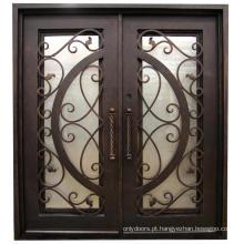 Porta exterior do ferro do aço da segurança do melhor preço da alta qualidade