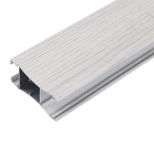 Environmentally wood grain wardrobe door aluminum profile