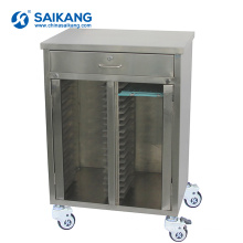 SKH013 Medical Patient Record Holder Instrument Trolley