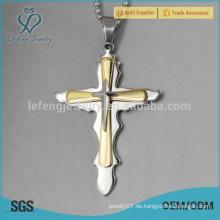 Heißer Verkauf keltische Kinder 316l Edelstahl Kreuz Anhänger