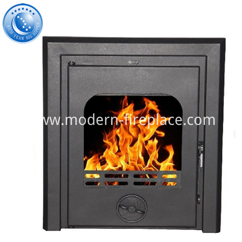 Custom Modern Wood Burning Fireplaces