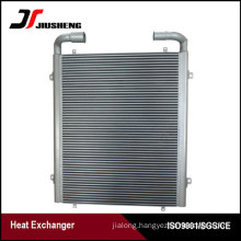 China Aluminum Industrial Oil Cooler For Kobelco SK200-6E