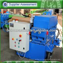 Máquina hidráulica automática empujadora de hilo