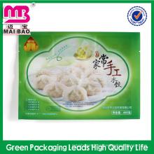 Nuevo producto de diseño multi capas plástico congelado albóndigas bolsa de envasado de alimentos al por mayor