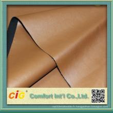Nouvelle conception Décoration PU Cuir tissu pour vêtement pour veste