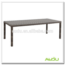 Rattan Aluminium Picnic Beach Cheer Dining Table