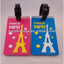 Etiquetas de equipaje de viaje