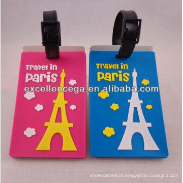 Etiquetas de bagagem de viagem