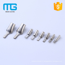 Plating Tin Non-insulated Copper Insert Needle Naked Terminals