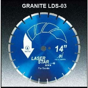 diamond saw blade - Laser welding - LDS-03 (For granite)