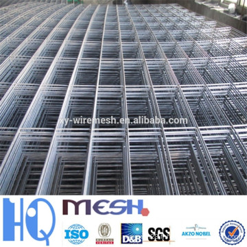 Usine de guangzhou panneau de treillis métallique, panneau de treillis métallique soudé, panneau de treillis métallique soudé galvanisé