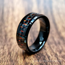 Spot Wholesale IP Blacking Plating Tungsten Carbide Jewelry