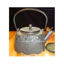 Embossed Cast Iron Teapot 1.1L