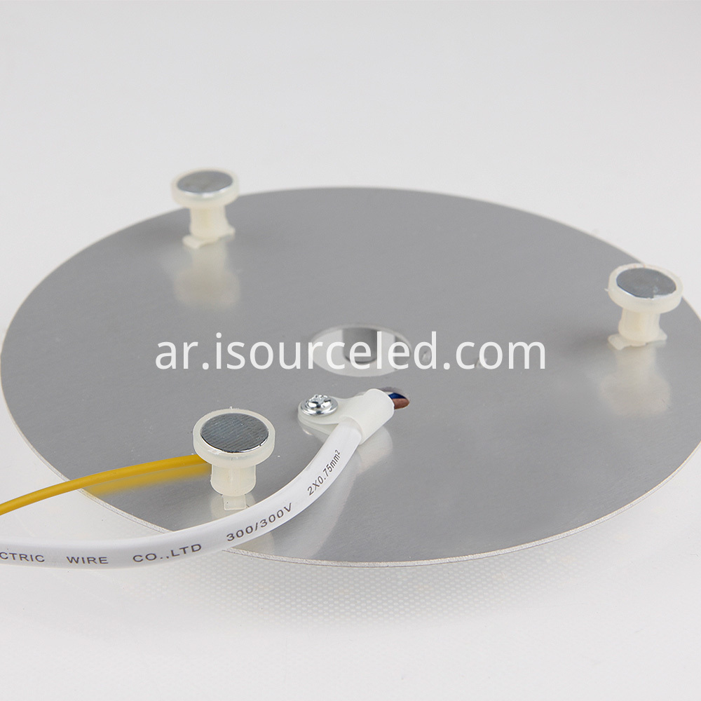 Warm white light bottom picture of Warm 15W AC COB Module for Ceiling Light