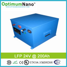 Solar Power Lithium Iron Phosphate Battery 24V 200ah
