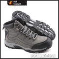 Industry Leather Safety Shoes with Cement Rubber Sole (SN5164)
