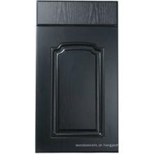 Porta de armário de cozinha do PVC (HLPVC-5)