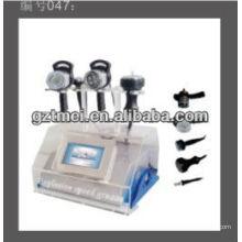 5in 1 tragbare Körper abnehmen Maschine mit Tripola RF & 40Kcavitation & Vakuum Saug Gewichtsverlust Gerät