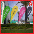 Medium Teardrop Flag Banners with Cross Feet
