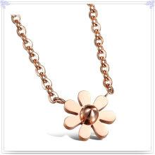 Moda jóias de aço inoxidável pandora moda colar (nk240)