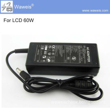 Waweis 12V 5A 60W switching AC/DC power supply for LCD/LED screen,CCTV security,wifi adapter digital adapter,printer