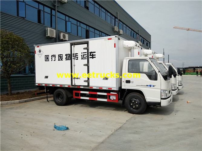 Medical Waste Refrigerated Trucks