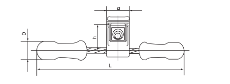 Stockbridge Vibration Damper for Opgw Cable