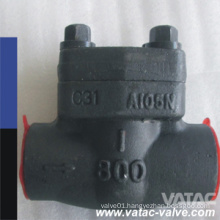 Welded Bonnet Fs A105/A105n Cl800 Fnptxmnpt Check Valve
