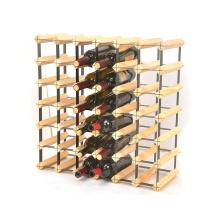 42 Bottle Bordex Modular Wood and Metal Wine Rack