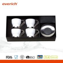 Conjunto de caneca de café cerâmico pequeno e promocional mais vendido