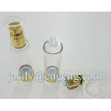 15ml 20ml 30ml 50ml 80ml 100ml round airless pump bottle