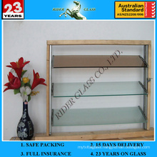 3-6mm Clear Colored Louver Louvre Glass with AS/NZS2208: 1996