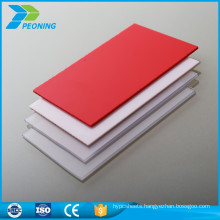 New style best quality 16mm thick cheap hard plastic light diffusion polycarbonate sheet