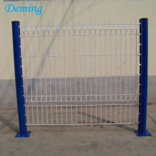 High Quality  Powder Coated 3D bending welded mesh fence
