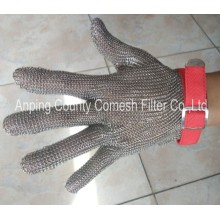 Anti-cutting 5 Level Stainless Steel Wire Gloves