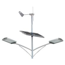 Luz de rua solar complementar eólica