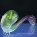 Wholesale Glass Colored Hand Pipe for Smoke with Universal (ES-HP-065)