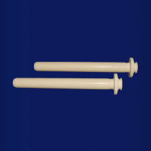 99% Alumina Ceramic Shaft dengan Groove