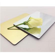 1100 1050 Reflective Polished Aluminum Mirror Sheet