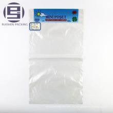 Bolso plano impreso biodegradable del plástico del eco