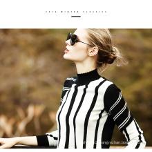 Women′s Cashmere Sweater Round Neck 16brdw007