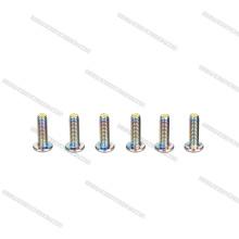 Polierte Edelstahl-Knopfkopf-Zylinderschrauben und Bolzen