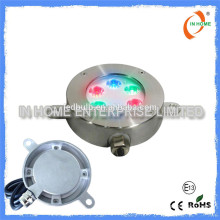 High quality IP68 6W led pool light, ss 316 led light underwater