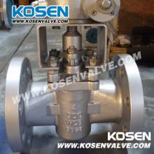 Литой стальной фланец Plug клапаны (X343)