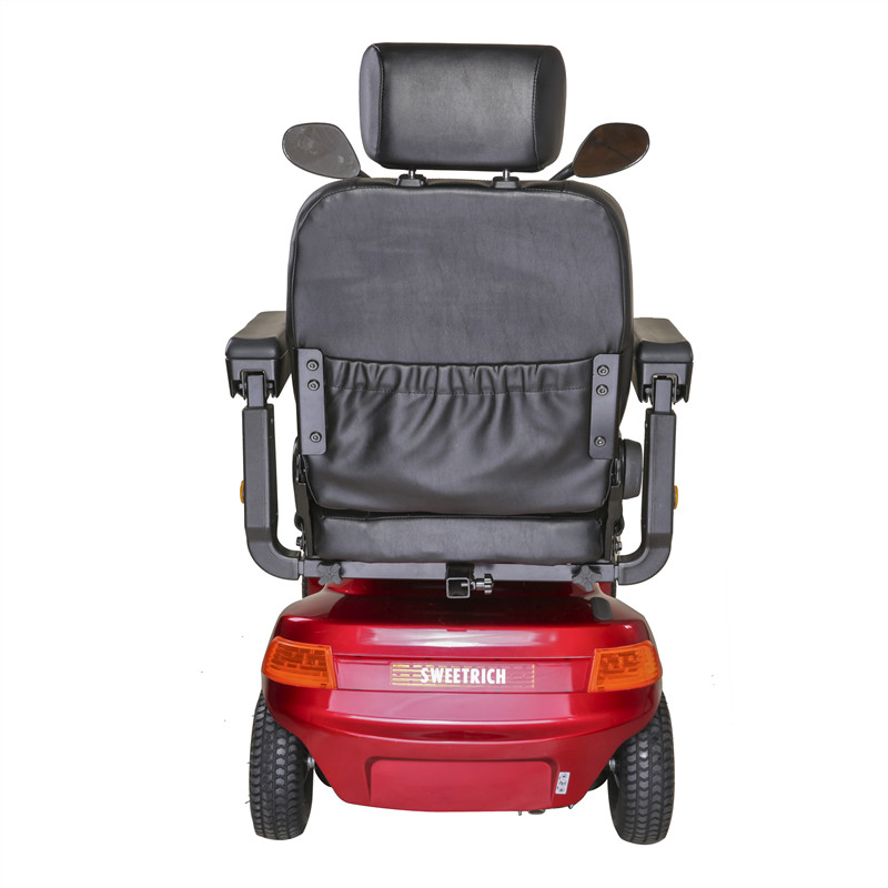 The luxury one-seat scooter