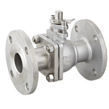 304 Dimensions Flanged Ce Ball Valve
