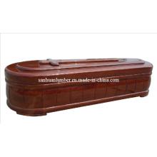 Ataúd de madera y ataúd (R008)