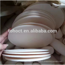 ZTA zircone trempé alumine céramique plaque ronde carrelage bloc de brique