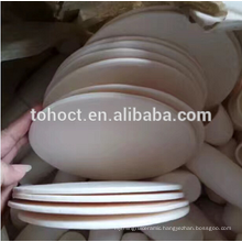 ZTA zirconia toughened alumina ceramic round plate tile brick block