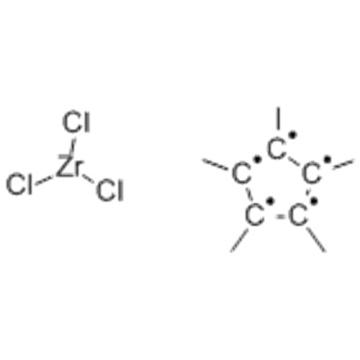 Zirconium,trichloro[(1,2,3,4,5-h)-1,2,3,4,5-pentamethyl-2,4-cyclopentadien-1-yl] CAS 75181-07-6
